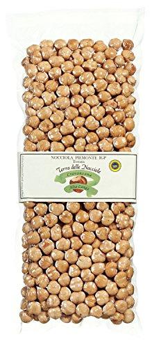 Haselnüsse aus dem Piemont geröstet. Haselnusskerne ganz premium Qualitätsware Natural. Terra delle Nocciole 500 g