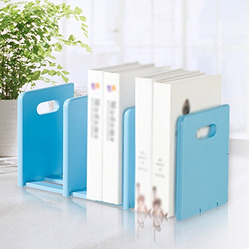 DFHHG® Estantería Estantería de Libros Oficina de Protección Medioambiental File Rack Azul Madera Color durable ( Color : #2 )