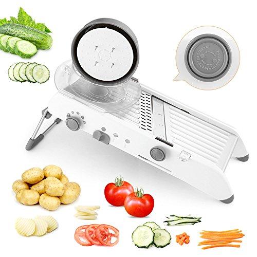 Amody Multifunktionale Manuelle Gemüseschneider Mandoline Slicer karottenreibe Küchenzubehör