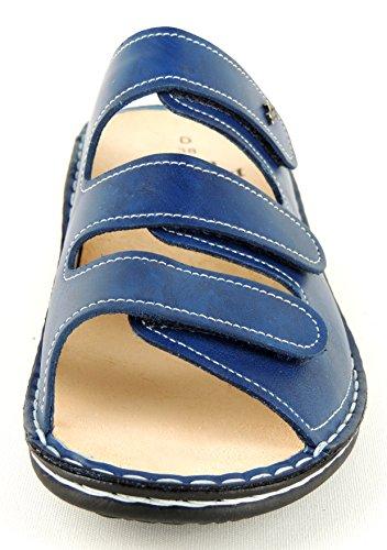 Finn Comfort, Zoccoli donna Blu blu Blu (Bluette)