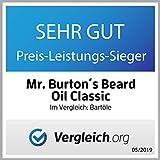 Mr. Burton´s Beard Oil – Bartöl CLASSIC – unverwechselbarer Duft – 50ml Bart Öl für die Bartpflege Made in Germany mit Arganöl Tierversuchsfrei - 5