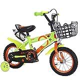 Defect Kinder Fahrrad 2-6-jährige männliche und weibliche Baby universal Fahrrad mit Korb + Flash-Rad