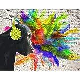 Fototapete Graffiti Affe Vlies Wand Tapete Wohnzimmer Schlafzimmer Büro Flur Dekoration Wandbilder XXL Moderne Wanddeko - 100% MADE IN GERMANY - Runa Tapeten 9169010a