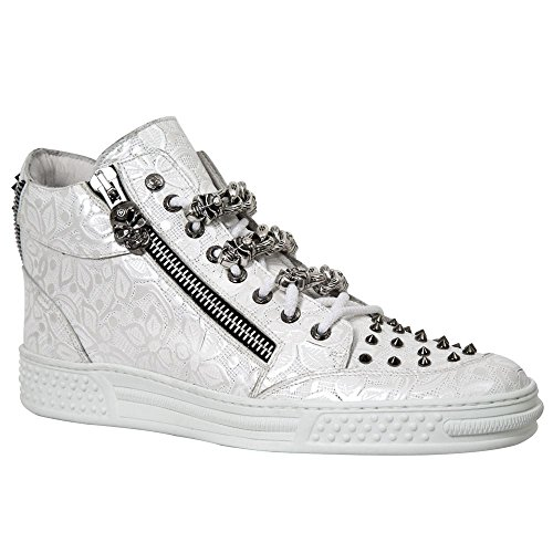 New Rock Pisa Blanc Chaussures M.PS040-S4