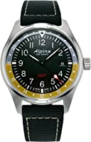 Alpina Geneve Startimer Pilot AL-247BBG4S6 Reloj de Pulsera para hombres Segundo Huso Horario de Alpina