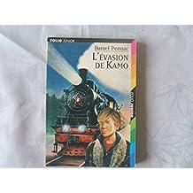 L'EVASION DE KAMO DE DANIEL PENNAC//ILLUSTRATIONS DE JEAN - PHILIPPE CHABOT//FOLIO JUNIOR/GALLIMARD JEUNESSE//N°801//NOVEMBRE 2001