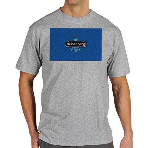 Heisenberg-Chem-Lab-Background.jpg Herren T-Shirt Grau