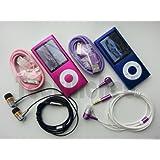 "TechNiched 8GB Super Slim 5th Gen MP3 MP4 Player with 2.2"" LCD, Camera, FM Radio, Shake, Gravity Sensor, Touch Wheel & 30 Pin iPod Connector Interface - 1YR WARRANTY (Pretty Pink)"