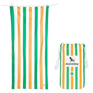 Dock & Bay Beach Accessories Quick Dry Towel - Irish Charm, Large (160x80cm) - pool towel for swimmers, compact & lightweight towel