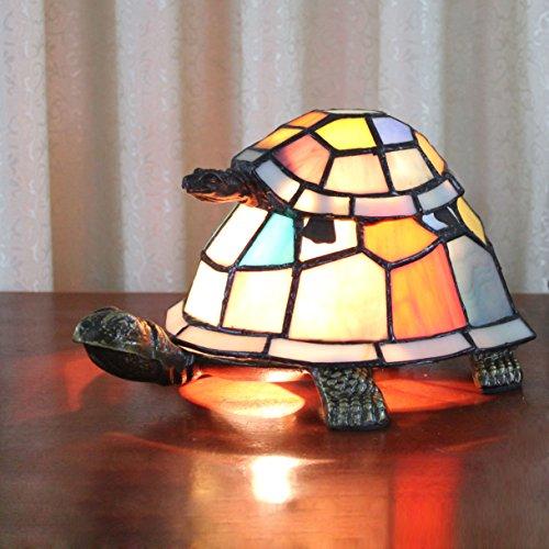 Art-europäische kreative bunte Mutter u. Kind-Schildkröte-Schildkröte Cuckold Tischlampe Kinderlampe Nachtlicht (Deco-schreibtisch-lampe)