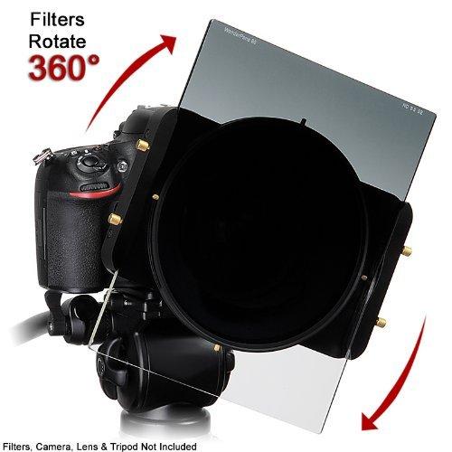 'WonderPana 66Freearc Kit Rotating Filter System Holder/6.6Brackets and Lens Cap for the Nikon 14-24mm f/2.8G ED AF-S Nikkor Wide Angle Zoom Lens