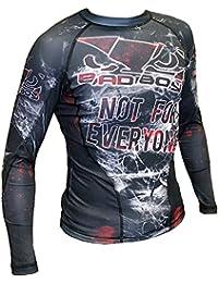 Rashguard Bad Boy Not For Everyone-xl MMA BJJ Fitness Grappling Camiseta de compresión