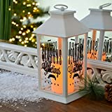 INtrenDU Weihnachtslaterne inkl. LED-Kerze 30cm Weihnachtsdeko