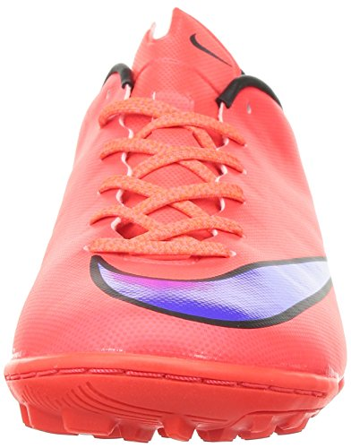 Nike Mercurial Victory V TF, Chaussures de Football Mixte Adulte, 10.0UK/ 29.0cm Rot (Bright Crimson/Prsn Violet-Blk 650)