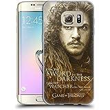 Officiel HBO Game Of Thrones Jon Snow Portraits De Personnage Étui Coque en Gel molle pour Samsung Galaxy S7 edge