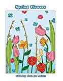 Best Books For Tweens - Spring Flowers: Flower Coloring Book for Adults, Teens Review