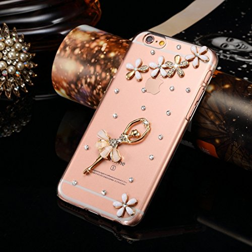 Phone case & Hülle Für IPhone 6 / 6s, Diamond verkrustete Juwel Fox Pattern PC Schutzhülle Back Cover ( SKU : IP6G1006G ) IP6G1006C