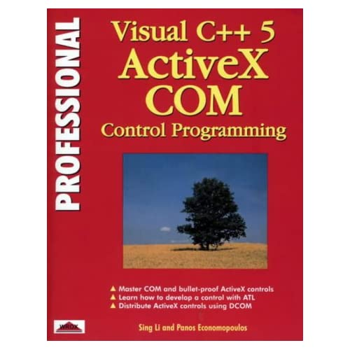 PROFESSIONAL VISUAL C++5 ACTIVEX COM