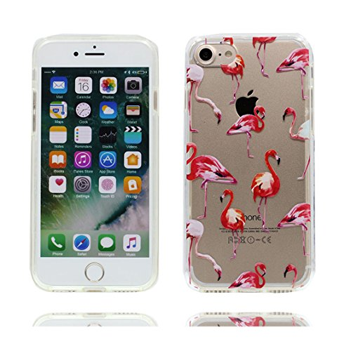 iPhone 6 Plus Custodia, Visualizza chiaro Ultra sottil Silicone Cover Shell Semplice Progettato per iPhone 6s Plus Copertura (5.5 pollici), iPhone 6S Plus Case - unicorno unicorn color 8