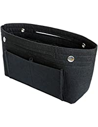 VANCORE Multi Pockets Organisateur Femme Sac à main Insert Tidy Travel Bag Sac Cosmetic, 8 poches