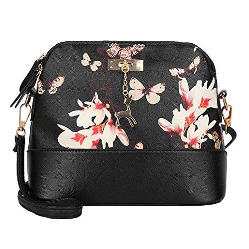Beauty-luo borsa donna, borsa a tracolla, donne messaggero borse moda mini borsa in pelle artificiale borsa cervo giocattolo guscio forma borsa spalla borse (a)