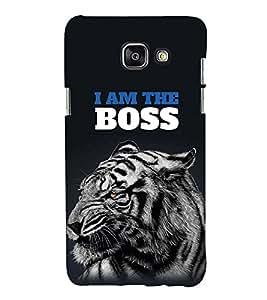 FUSON The Boss Tiger 3D Hard Polycarbonate Designer Back Case Cover for Samsung Galaxy A5 (6) 2016 :: Samsung Galaxy A5 2016 Duos :: Samsung Galaxy A5 2016 A510F A510M A510Fd A5100 A510Y :: Samsung Galaxy A5 A510 2016 Edition