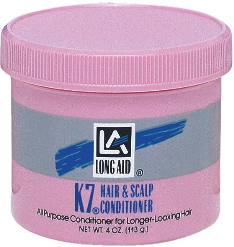 Long-Aid K-7 Hair and Scalp Conditioner 4oz by Long Aid