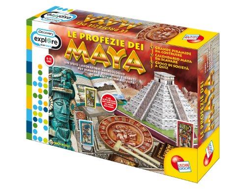 Liscianigiochi-41091-Discovery-Juego-sobre-los-mayas-Importado-de-Italia