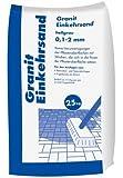 Hamann Mercatus GmbH 25kg Granit Einkehrsand hellgrau 0,1-2,0 mm - Fugen & Einkehrsand