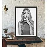 Super Modèle Blonde Affiche Mur Art Mur Décor Soie Prints Art Affiche Peintures...