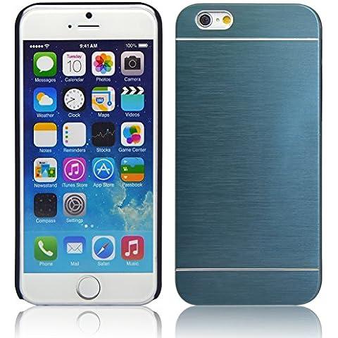 iProtect Apple funda iPhone funda protectora carcasa tipo aluminio Apple iPhone 6 (4,7
