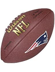 Wilson NFL New England Patriots Full Size Composite Football by Wilson