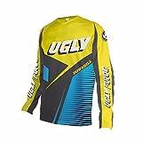Uglyfrog 2018 Downhill Trikot Lange Ärmel Herren Mountainbike Freeride BMX Fahrradtrikot Motocross MTB/Downhill Bekleidung Z04