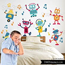 StarStick - Robots Bailarines - Vinilos infantiles
