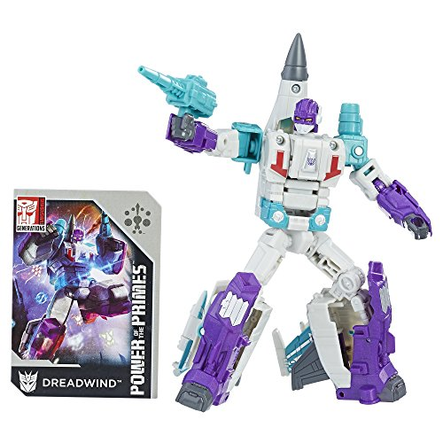 TRANSFORMERS GENERATIONS POWER OF THE PRIMES DELUXE CLASS DREADWIND ACTIONFIGUR (Jet-blaster)