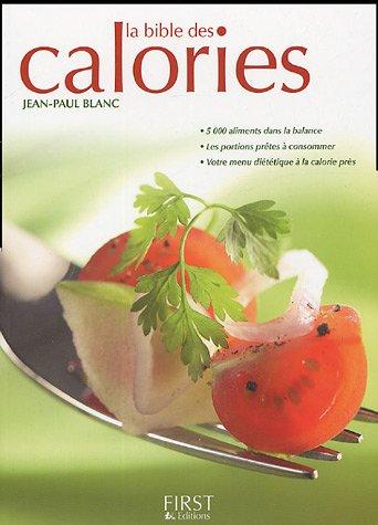 La bible des calories