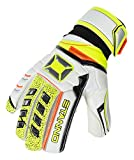 Stanno Junior's Finger Protection Football Goalkeeper Gloves White Review and Comparison