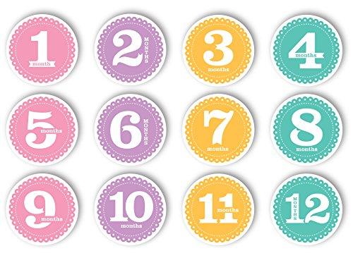 Tiny ideas première année Belly Stickers