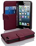 Cadorabo 100266 Hülle für Apple iPhone 5 / iPhone 5S / iPhone SE, Lila