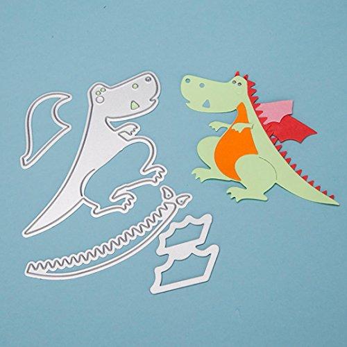FNKDOR Stanzschablone Scrapbooking Stanzmaschine Prägeschablonen Schablonen Stanzformen, für Sizzix Big Shot und andere Prägemaschine (C)