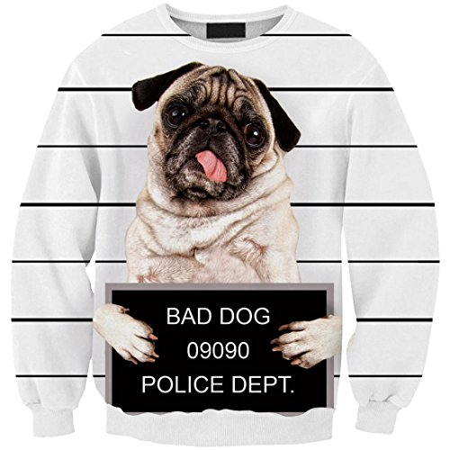 Yichun – T-shirt da donna sottile, felpe casual, camicetta, stampa, pullover, maglione Lovely Dog 5#