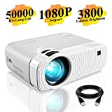 Best Micro Projectors - Mini Projector, ELEPHAS 3800 Lumens Portable Projector Max Review