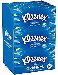 Kleenex Original Tissues - 12 Boxes (864 Tissues Total)