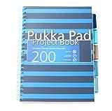 Pukka Pad, Quaderno A4 Da 200 Pagine Con 5 Divisori, Blu Scuro