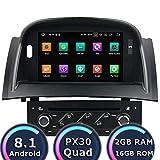 ROADYAKO 7Inch Car Reproductor de DVD para Renault Megane II 2004 2005 2006 2007 2008 2008 2009 Android Car Radio Estéreo Navegación GPS 3G WiFi Enlace de Espejo RDS FM Am Bluetooth Audio Video