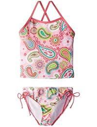Kanu Surf Girls' Secret Garden Tankini Swimsuit
