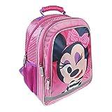 Cerdá Disney Minnie Maus 2100002257 Rucksack, 38 cm, Kinder, Rosa