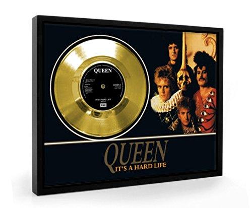 Queen It's A Hard Life Framed Disco de Oro Display Vinyl (C1)