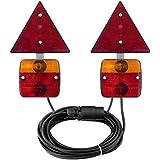 AdLuminis lámpara trasera con soporte magnético y reflector, para colgante, 7 m de cable, 7 pines macho, Después De las normas gültigen ECE, para carretera Autorizada