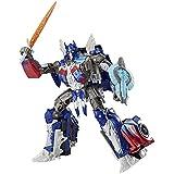 Transformers: El último caballero Premier Edition Voyager Class Optimus Prime Figura de acción